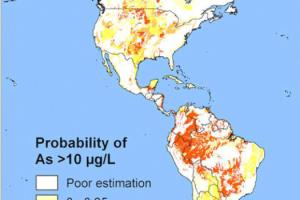 Arsenic in Groundwater map
