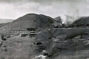 Panorama of Jerome c. 1900, Verde Mining District