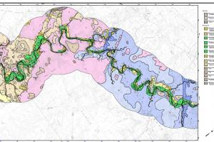 Holocene mapping of Oak Creek, central Arizona