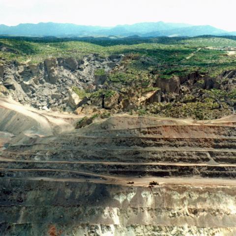 San Manuel copper mine
